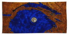 Eye Of The Moon Beach Towel