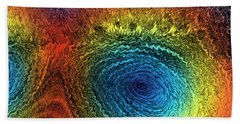 Eye Of The Storm Beach Towel