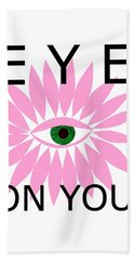 Eye On You Beach Sheet