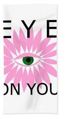 Eye On You Beach Sheet