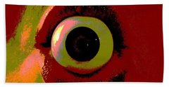 Eye See You  Beach Towel