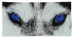 Eyes Of The Wild Beach Towel