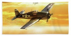 F-6f Hellcat Pacific Sunrise Beach Sheet