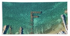 F Marks The Spot Beach Towel