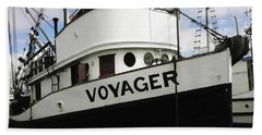 F V Voyager Beach Towel