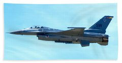 F16 Beach Towel by Greg Fortier