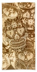 Fabric And Folklore Beach Towel