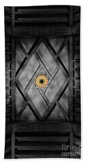 Fabulous Fox Theater Atlanta Ceiling Detail Beach Towel