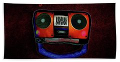 Face The Music Beach Towel by Shannon Staskin