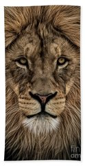 Facing Courage Beach Towel