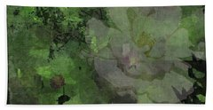 Faded Rose Beach Towel by Kathie Chicoine