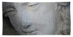 Faded Statue Beach Towel