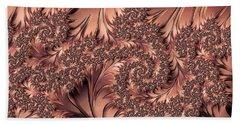 Beach Towel featuring the digital art Faerie Forest Floor I by Susan Maxwell Schmidt
