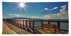 Fairhaven Boardwalk Beach Towel