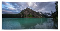 Fairview Mountain And Lake Louise Beach Towel