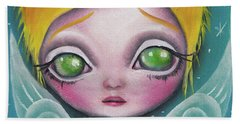 Fairy  Beach Towel by Abril Andrade Griffith