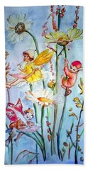 Fairy Babies Beach Towel