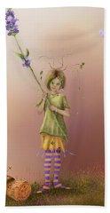 Fairy Bella Lavender Beach Towel