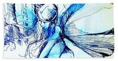 Fairy Doodles Beach Sheet