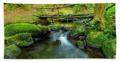 Fairy Glen Bridge Beach Towel
