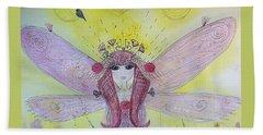 Fairy Messenger  Beach Sheet