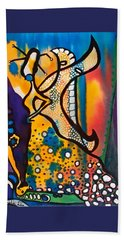Beach Towel featuring the painting Fairy Queen - Art By Dora Hathazi Mendes by Dora Hathazi Mendes