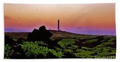 Fairy Tale Lighthouse Beach Sheet