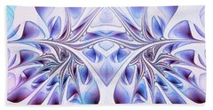 Beach Towel featuring the digital art Fairy Wings by Jutta Maria Pusl