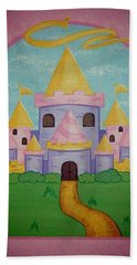 Fairytale Castle Beach Towel