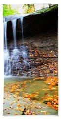 Fall At Blue Hen Falls Beach Sheet