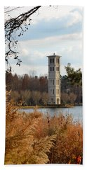 Fall At Furman Beach Towel