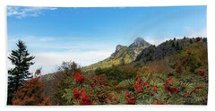 Fall At Grandfather Mountain Beach Towel