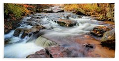 Fall At Gunstock Brook II Beach Towel