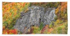 Fall Climbing Beach Towel