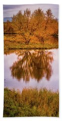 Fall Colors Beach Towel