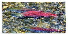 Beach Towel featuring the photograph Fall Colors by David Lawson