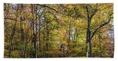 Fall Colors Of Rock Creek Park Beach Sheet
