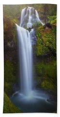 Beach Towel featuring the photograph Fall Creek Falls by Darren White