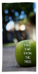 Fall Far From The Tree- Art By Linda Woods Beach Towel