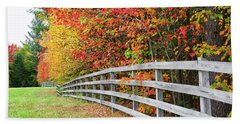 Fall Fence Beach Sheet
