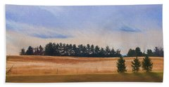 Fall Fields Of The Shenandoah Beach Towel by Kevin Blackburn
