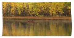Fall Fishing Beach Sheet