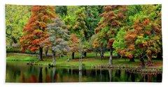 Fall Foliage Beach Sheet