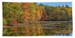 Fall Foliage Beach Towel by Brian MacLean