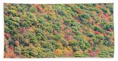 Fall Foliage Beach Towel