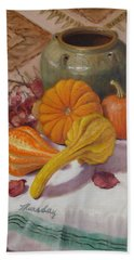 Fall Harvest #5 Beach Towel by Donelli  DiMaria