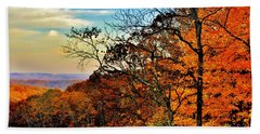 Fall Horizon Beach Towel