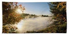 Fall In New England Beach Sheet