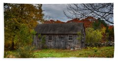 Fall In New England Beach Sheet by Tricia Marchlik