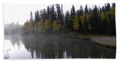 Kiddie Pond Fall Colors Divide Co Beach Sheet